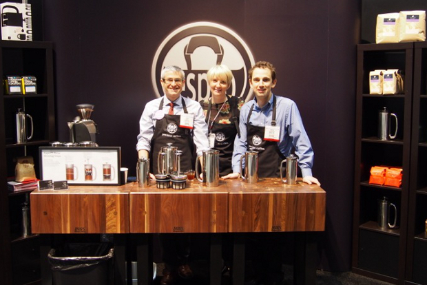 The team at the housewares trade show in Chicago.