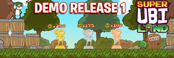 UPDATE: Super Ubi Land demo release 1 out now! Click banner to play it!