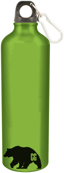 "24 oz. ""Cascade Giants ""aluminum water bottle with carabiner (BPA free)"