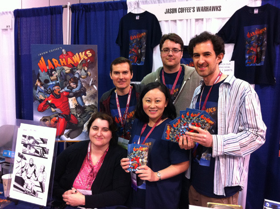 Team Warhawks at WonderCon 3/31/13: Anna, Steve, Amy, Wade, Doug, Todd (not pictured)