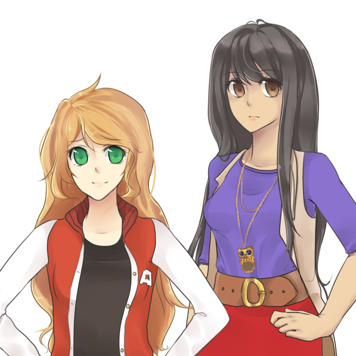 A sample of Taryn and Yuko's sprite art.