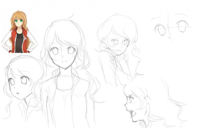 Sketches of Taryn - 100puro