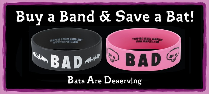 TWO FREE B.A.D. Bands with your pledge!