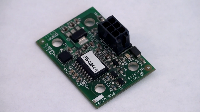 Three-Axis Accelerometer