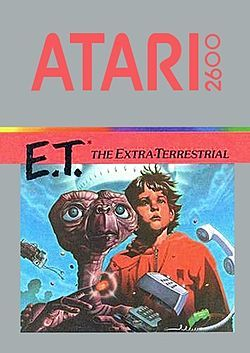 E.T. The Extra-Terrestrial original 1983 box art