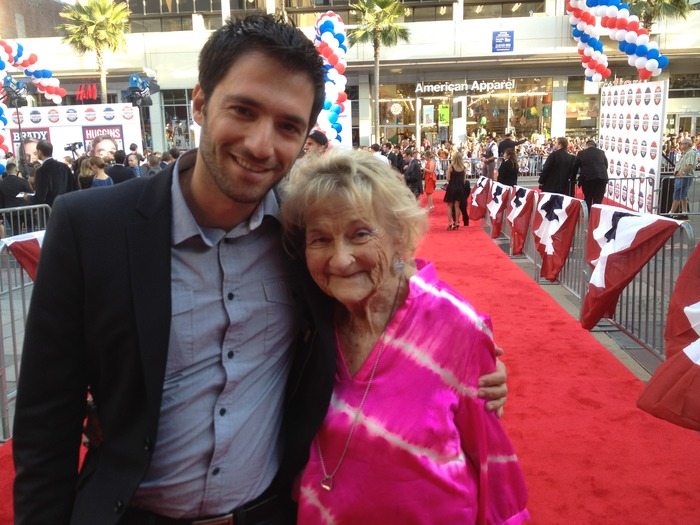 Mimi and Yaniv on the red carpet.