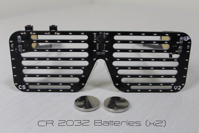 PEGS Use Two Commonly Found CR 2032 Coin Cell Batteries