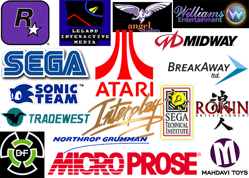 Companies we've made games for.