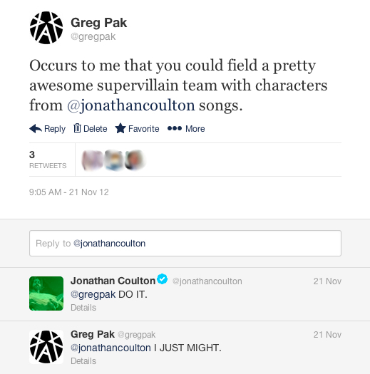 Greg Pak twitter