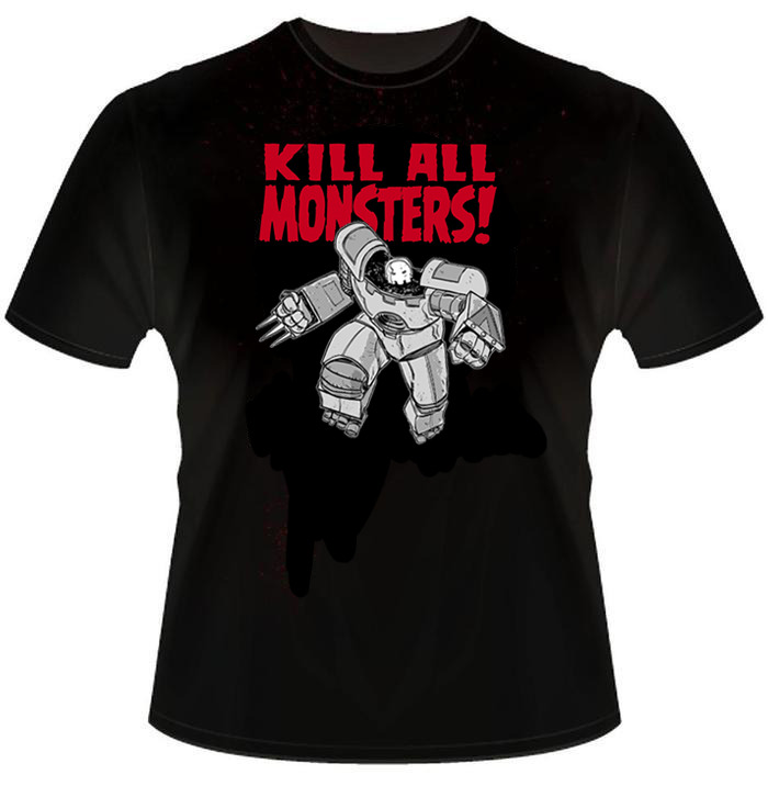 Kill All Monsters T-shirt
