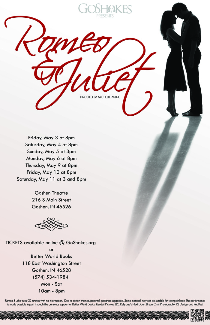 GoShakes presents ROMEO & JULIET