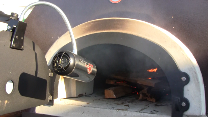 BBQ Dragon fires up pizza ovens