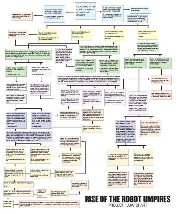 Rise of the Robot Umpires Flow Chart