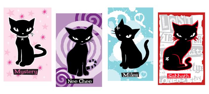EMILY'S CATS!