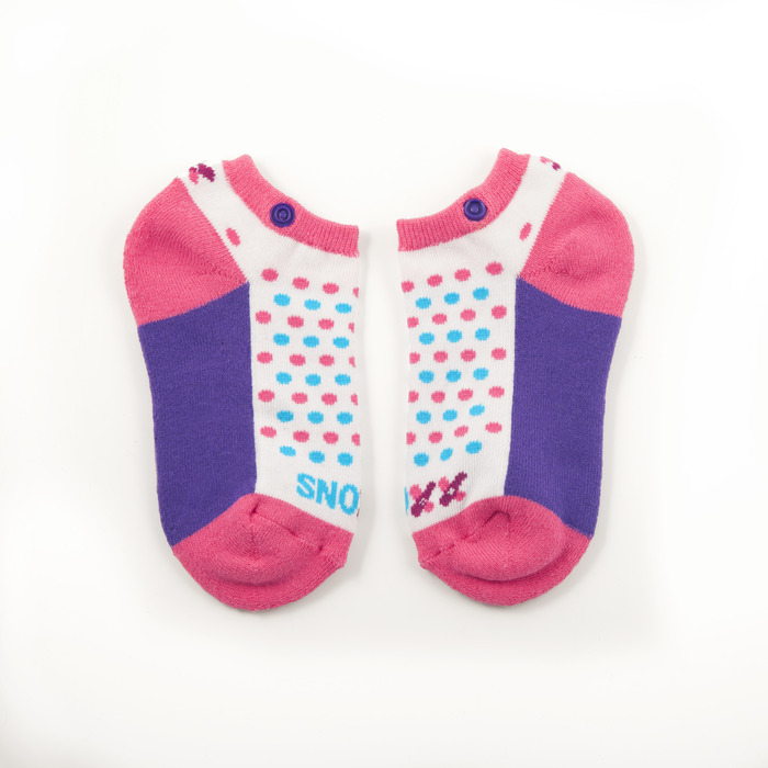 Pink and Purple with Dots, Kids'