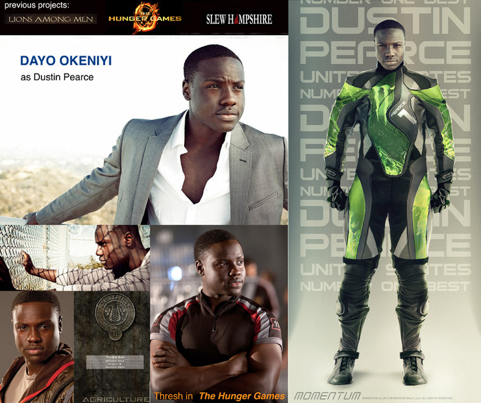 Dayo Okeniyi to play Dustin Pearce