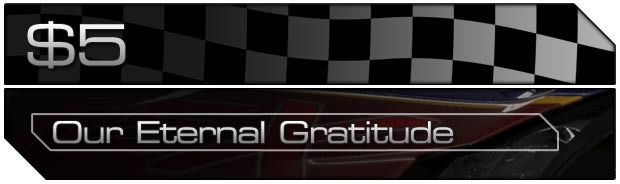 $5 - Our Eternal Gratitude