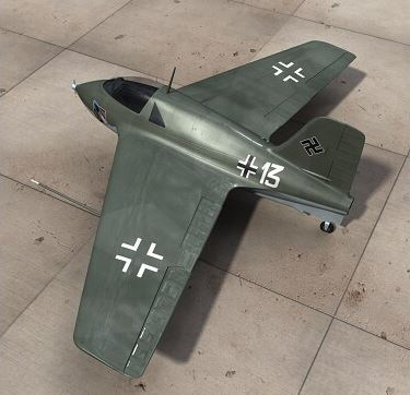 First secret aircraft revealed: The rocket-powered Messerschmitt Me 163 Komet