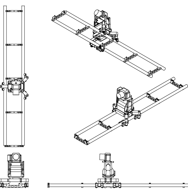 Line drawings from our CAD designs