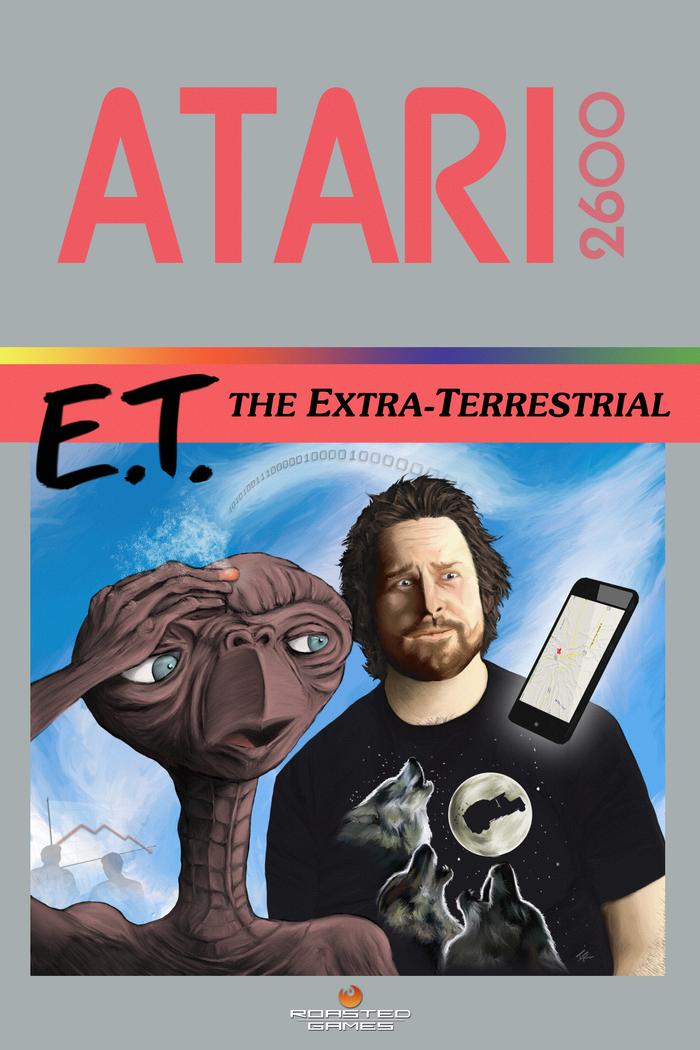 E.T. The Extra-Terrestrial Atari 2600 30th Anniversary Poster