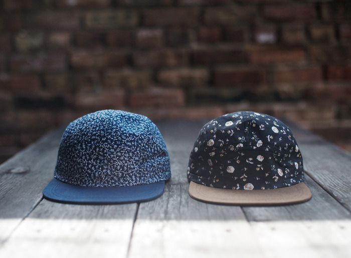 5-Panel Hats (See below for renderings with labels sewn on)