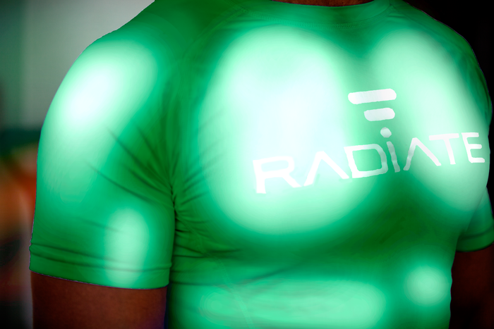 Make your friends green with envy as you light up the gym!