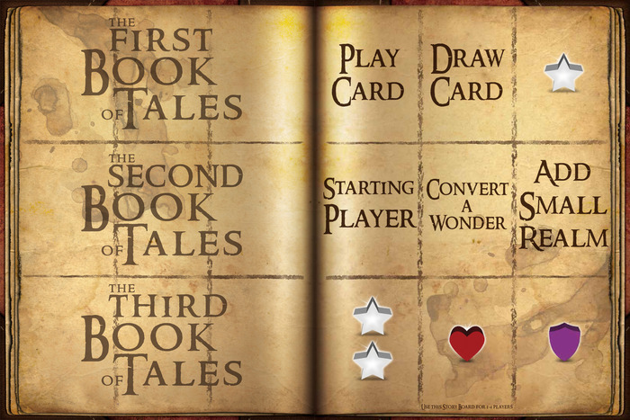 "The two game boards (""Story Boards"")"