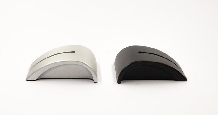 Two colors: Aluminium Grey & Matte Black