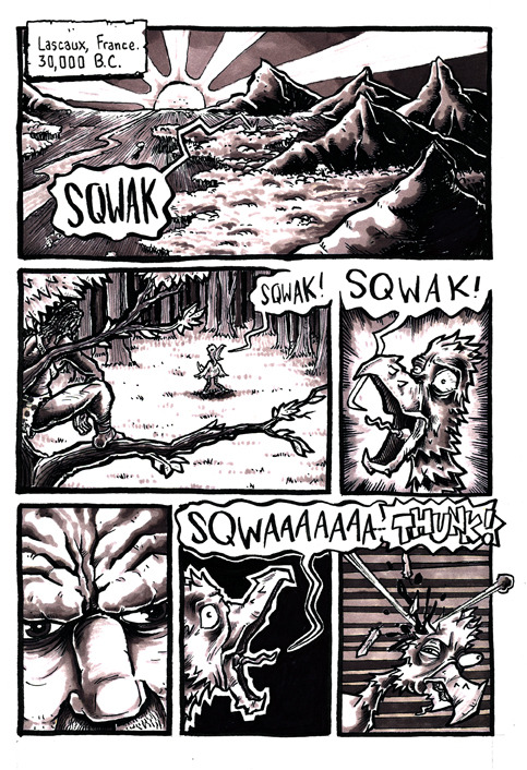 Page 1 of Michael S Bracco's Art Fight Comic...