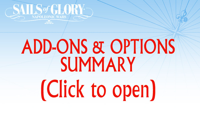 Click on the image above to review the full list of optional add-ons.