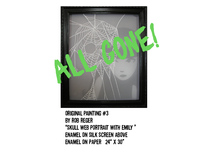 """UNAVAILABLE. IT'S NOW BACKER OWNED!! Enjoy the Web-art!! Thanks for the support! """