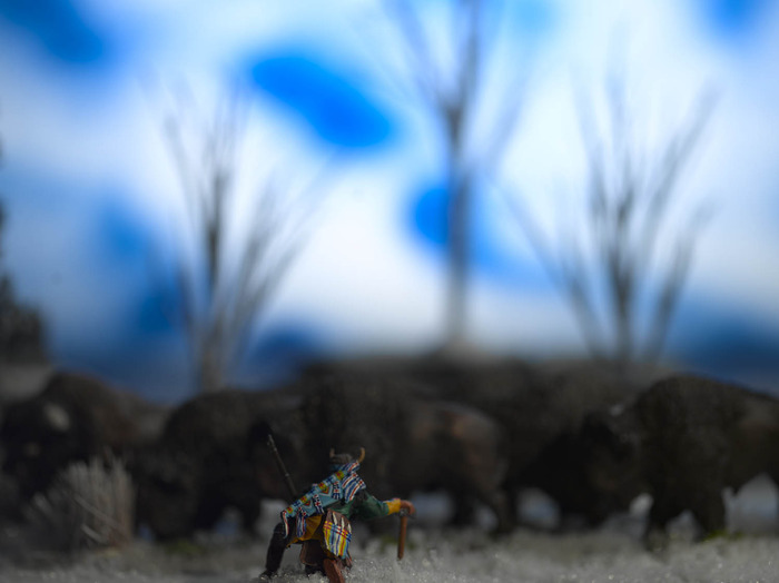 David Levinthal, Wild West Series, Discoverers Limited Edition Print. Available at THE WILD WEST supporter level.