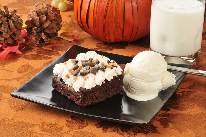 Holiday Flavor: Pumpkin & Chocolate. Mmmmm...... so good!