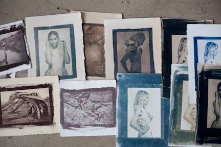 5 x 7 Salt Print or Cyanotype