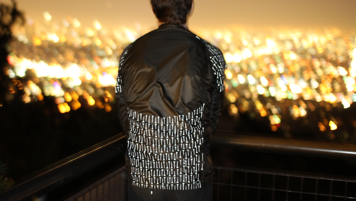 Reflective details highlighted while enjoying the beautiful cityscape in Los Angeles