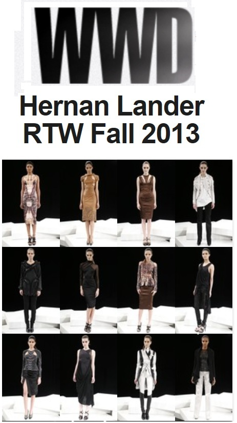 Link: > Hernan at Women's Wear Daily <
