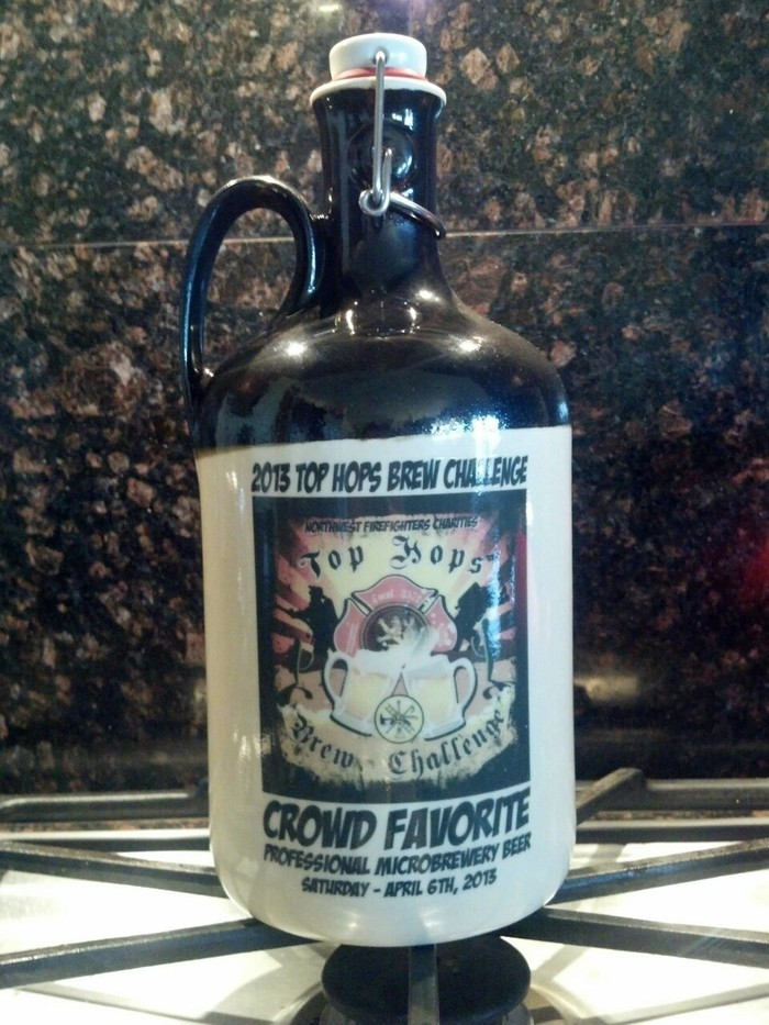 """Crowd Favorite"" Professional Microbrewery Top Hops 2013"