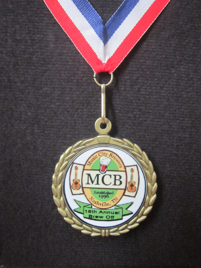 "Monsoon Dunkel ""Gold Medal"" Music City Brew Off 2012"