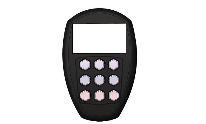 Remote Control (shown in black)