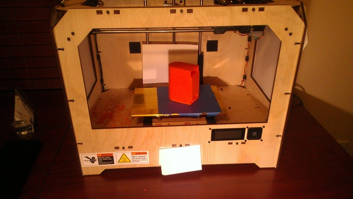 Early Model ShaPooPee Printed on 3D Printer