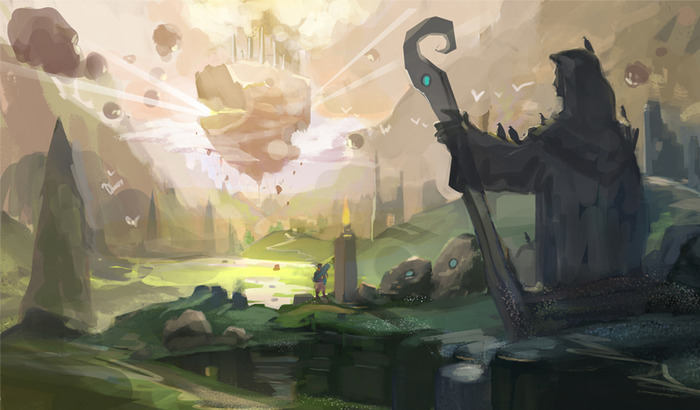 Caro Valley Concept Art