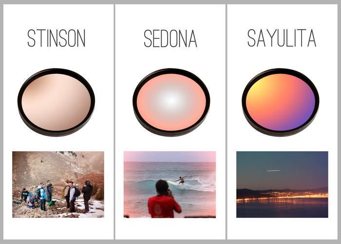 Mount July: Color Splashed Camera Filters by Olivia ...
