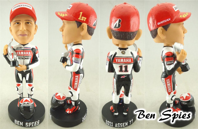 Ben Spies Bobble Head