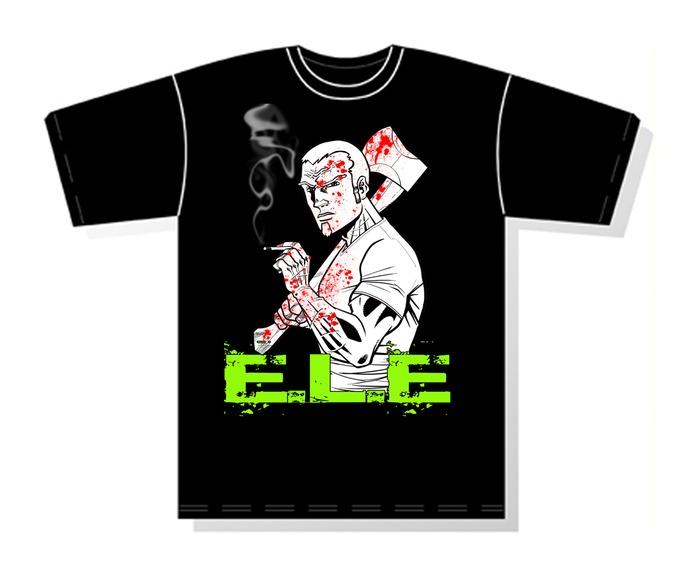 E.L.E. Exclusive Kickstarter T-shirt #1
