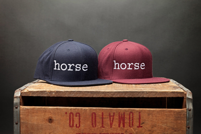 WOOL BALL CAP BY HORSE