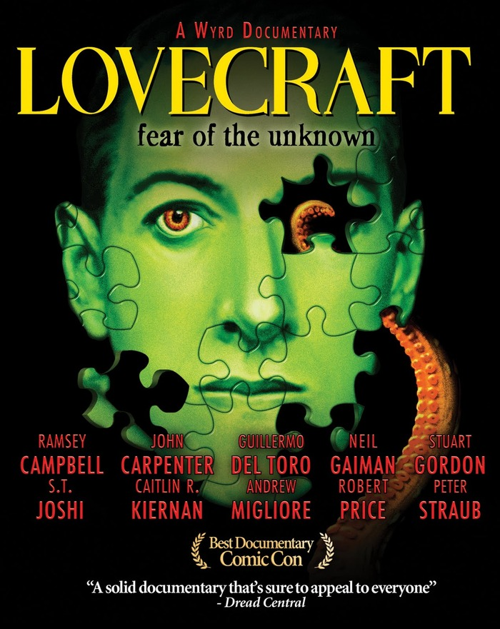 FEAR OF THE UNKNOWN Lovecraft Documentary Poster