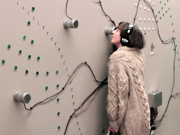 Interactive Sound Installation, Mikhail Mansion