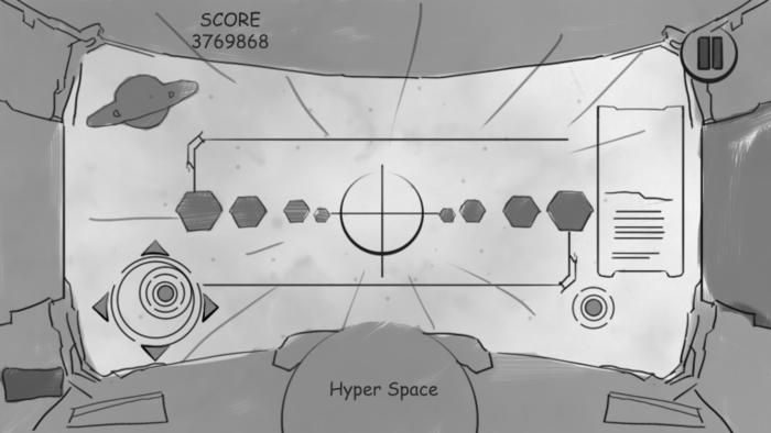 Rough Hyperspace Sketch (Design Concept)