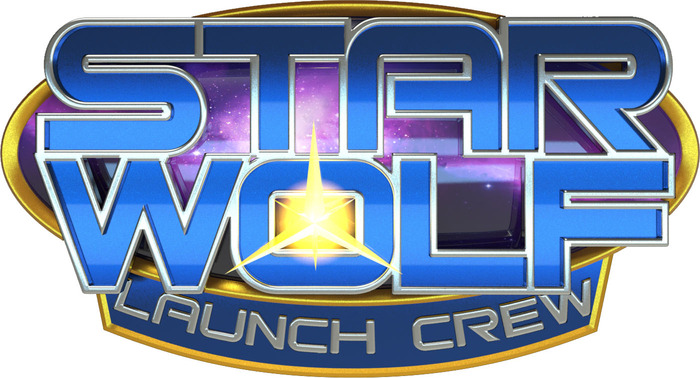 "This is our Kickstarter Exclusive ""Launch Crew"" logo.  All custom rewards will feature this logo, and the logo will be retired forever once the campaign is over."