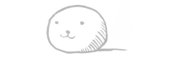 SITER SKAINのマスコット 「犬ボール」